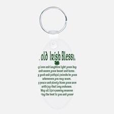 Old irish Blessing Keychains