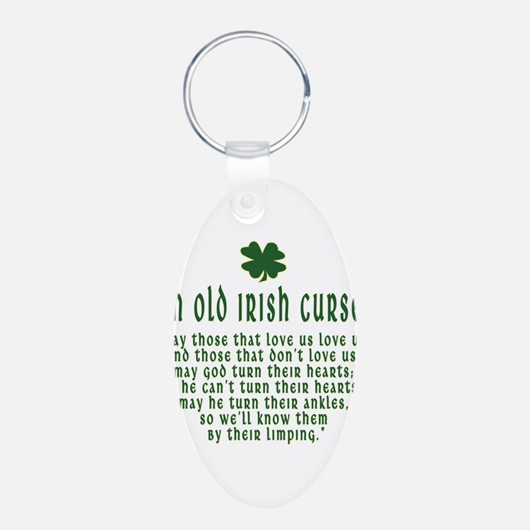 An Old irish curse Keychains
