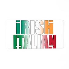 Irish Italian Aluminum License Plate