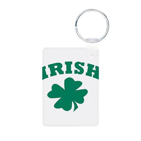 Irish Aluminum Photo Keychain