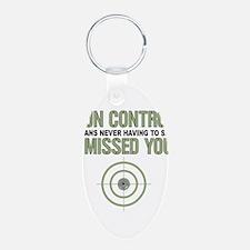 Gun Control Keychains
