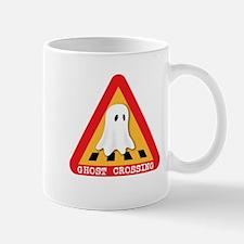 Cute Ghost Crossing Sign Mug