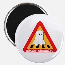 "Cute Ghost Crossing Sign 2.25"" Magnet (100 pack)"