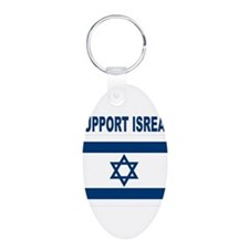 Peace for Isreal Keychains