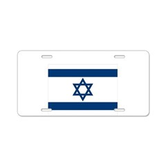 Peace for Isreal Aluminum License Plate