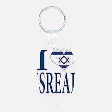 I love Isreal Keychains