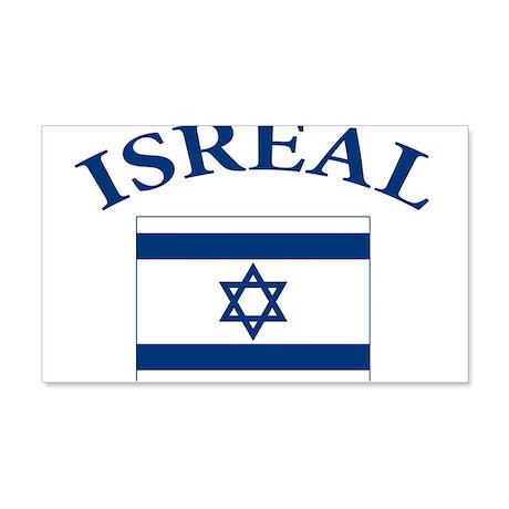 I love Isreal 22x14 Wall Peel