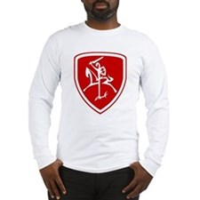 Red Vytis Long Sleeve T-Shirt