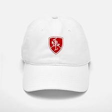 Red Vytis Baseball Baseball Cap