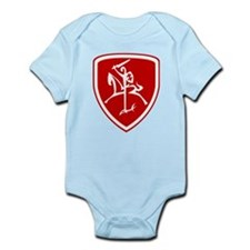 Red Vytis Infant Bodysuit