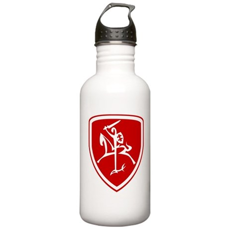 Red Vytis Stainless Water Bottle 1.0L