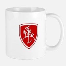 Red Vytis Mug