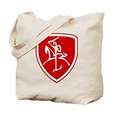 Red Vytis Tote Bag