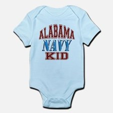 Alabama Navy Infant Bodysuit
