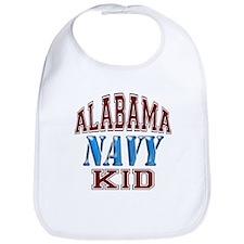 Alabama Navy Bib