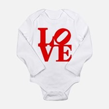 Love Long Sleeve Infant Bodysuit