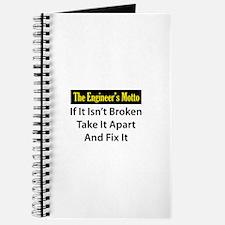 Engineer's Motto Journal
