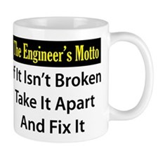 Engineer's Motto Small Mugs