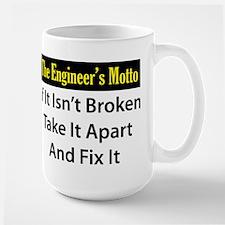 Engineer's Motto Large Mug