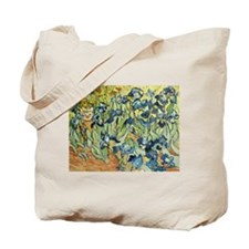 Vincent in the Irises Tote Bag