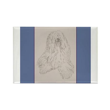 Tibetan Terrier Rectangle Magnet (100 pack)