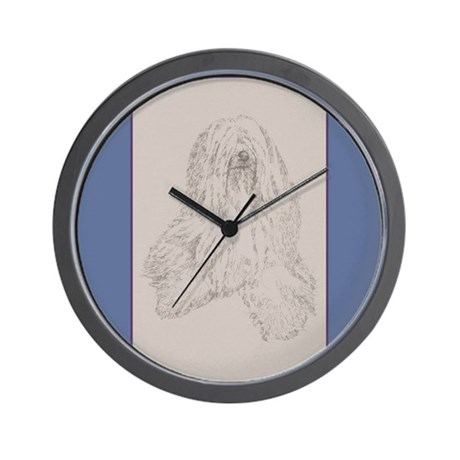 Tibetan Terrier Wall Clock