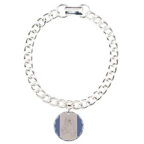 Tibetan Terrier Charm Bracelet, One Charm