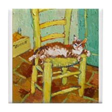 Yellow Chair Tile Coaster