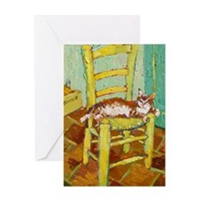 Yellow Chair Greeting Card