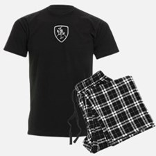 Black and White Vytis Pajamas