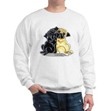 Black Fawn Pug Sweatshirt