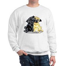Black Fawn Pug Sweatshirt