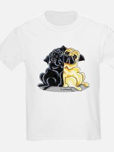 Black Fawn Pug T-Shirt