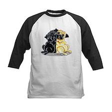 Black Fawn Pug Tee