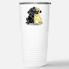 Black Fawn Pug Travel Mug