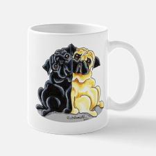 Black Fawn Pug Mug
