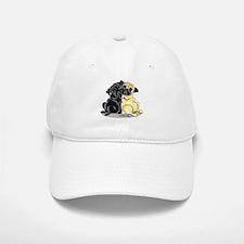 Black Fawn Pug Baseball Baseball Cap