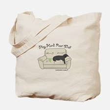 Black Lab - Play Hard Tote Bag