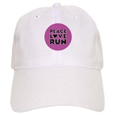 Peace Love Run Hat