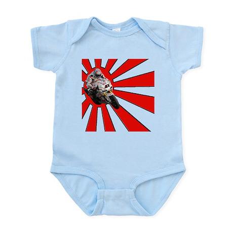 Nori Haga Rising Sun Infant Bodysuit