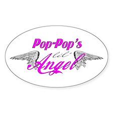 Pop-Pop's Lil' Angel Decal