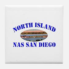 North Island Tile Coaster
