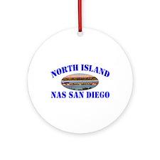 North Island Ornament (Round)