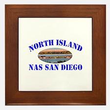 North Island Framed Tile