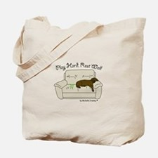 Chocolate Lab - Play Hard Tote Bag