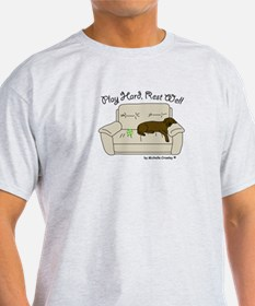 Chocolate Lab - Play Hard T-Shirt