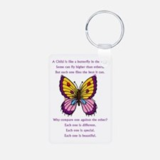 A Child Is Like a Butterfly- Keychains
