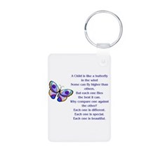 Cute Adhd Aluminum Photo Keychain