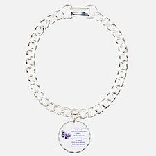 Unique Education Charm Bracelet, One Charm
