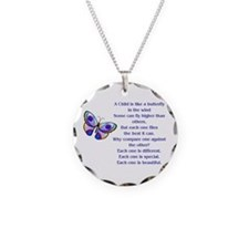Cute Disabilities Necklace